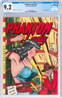 Phantom Lady #23 (Fox Features Syndicate, 1949) CGC NM- 9.2 White pages