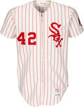 Baseball Collectibles:Uniforms, 1972 Hank Allen Game Worn Chicago White Sox Jersey with Pants. ...