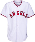 Baseball Collectibles:Uniforms, 2013 Albert Pujols Game Issued Los Angeles Angels Uniform, MLB Authentic. ...