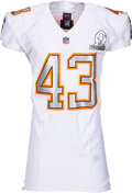 Football Collectibles:Uniforms, 2014 Troy Polamalu Game Issued Pro Bowl Jersey - NFL Auction COA....