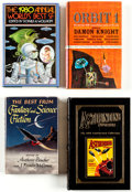 Books:Hardcover, Assorted Hardcover Science Fiction Anthologies Box Lot (Various, 1950s-90s)....