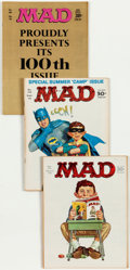 Magazines:Mad, MAD Group of 61 (EC, 1966-75) Condition: Average VF.... (Total: 61 Comic Books)