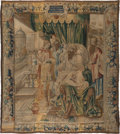 Textiles, A Flemish Wool and Silk Tapestry After a Cartoon by Daniel Leyniers: Joseph Interpreting Pharaoh's Dreams, Brussels,...