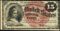 Fr. 1267 15¢ Fourth Issue Extremely Fine-About New