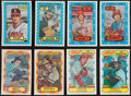 Baseball Cards:Sets, 1974-78 Kellogg's Baseball Complete Sets Collection (7)....