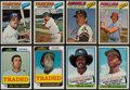 Baseball Cards:Sets, 1974-77 Topps/Burger King Complete/Near Sets Collection (7)....