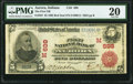Aurora, IN - $5 1902 Red Seal Fr. 587 The First National Bank Ch. # (M)699 PMG Very Fine 20