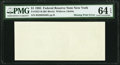 Error Notes:Blank Reverse (100%), Missing Back Printing Error Fr. 1921-B $1 1995 Federal Reserve Note. PMG Choice Uncirculated 64 EPQ.. ...