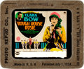 """Movie Posters:Comedy, Rough House Rosie (Paramount, 1927). Fine+. Glass Slide (3.25"""" X 4"""").. ..."""