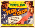 """Movie Posters:Mystery, The Pearl of Death (Universal, 1944). Rolled, Very Fine-. Half Sheet (22"""" X 28"""").. ..."""