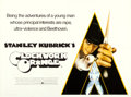 "Movie Posters:Science Fiction, A Clockwork Orange (Warner Bros., 1971). Folded, Very Fine-. British Quad (30"" X 40""). Philip Castle Artwork.. ..."