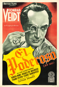 "Jew Süss (Gaumont British Distributors, 1934). Fine/Very Fine on Linen. Argentinean One Sheet (29"" X 43"")..."