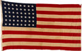 "Military & Patriotic:WWII, 90th ""Tough Hombres""Division: Personal Flag of Major Simson. . ..."