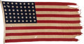 Military & Patriotic:WWII, General Douglas MacArthur Tokyo Headquarters Flag. . ...