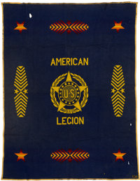 American Legion Blanket for Prominent VIP Guests
