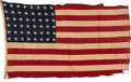 Military & Patriotic:WWII, USS Buncombe County (LST-510) Flag.. ...