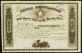 (Austin, TX)/Louisville, KY- Texas Association 8,000 Square Miles on the Trinity River Stock Certificate 18__ Remainder...