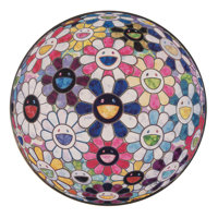 Takashi Murakami (b. 1962) Right There, the Breadth of the Human Heart, 2013 Offset lithograph in co