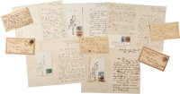Collection of Alexander Graham Bell Postcards and Letters