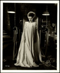 "Movie Posters:Horror, Elsa Lanchester in The Bride of Frankenstein (Universal, 1935). Very Fine. Photo (8"" X 10"").. ..."