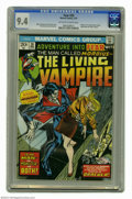 Bronze Age (1970-1979):Horror, Fear #20 (Marvel, 1974) CGC NM 9.4 Off-white to white pages.Morbius series begins with this issue. Gil Kane cover. Paul Gul...