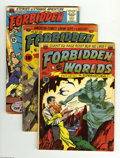 Golden Age (1938-1955):Horror, Forbidden Worlds #1, 6, and 118 Group (ACG, 1951-64). This lotconsists of issues #1 (GD, Frank Frazetta/Al Williamson art, ...(Total: 3 Comic Books Item)