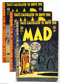Mad Issues #1-23 Group (EC, 1952-55). All the comic book issues, featuring classic art and stories by Harvey Kurtzman, B...