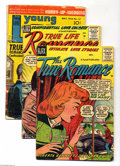 Golden Age (1938-1955):Romance, Miscellaneous Golden Age Romance Group (Various Pubishers,1949-57). This group contains All True Romance #29 (VG condit...(Total: 7 Comic Books Item)