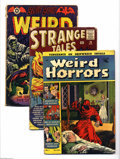 Golden Age (1938-1955):Horror, Miscellaneous Horror Group (Various, 1952-60). This lot consists ofWeird Horrors #1 (VG-); Strange Tales #76 (GD); ... (Total: 5 ComicBooks Item)