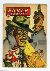 Punch Comics #10 (Chesler, 1944) Condition: GD/VG. Sky Chief appearance. Jack Cole art. Overstreet 2004 GD 2.0 value = $...