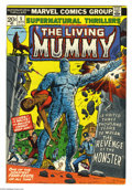 Bronze Age (1970-1979):Horror, Supernatural Thrillers #5 (Marvel, 1973) Condition: VF. FIrstappearance of The Living Mummy. George Tuska cover. Rich Buckl...