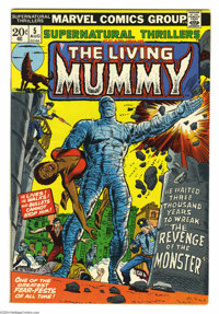 Supernatural Thrillers #5 (Marvel, 1973) Condition: VF. FIrst appearance of The Living Mummy. George Tuska cover. Rich B...