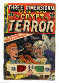 Golden Age (1938-1955):Horror, Three Dimensional Tales from the Crypt of Terror #2 (EC, 1954)Condition: FR/GD. Stories from Tales From the Crypt and ...