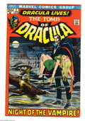 Bronze Age (1970-1979):Horror, Tomb of Dracula #1 (Marvel, 1972) Condition: FN. First appearanceof Dracula and Frank Drake. Neal Adams cover. Gene Colan a...