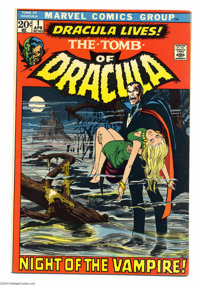 Tomb of Dracula #1 (Marvel, 1972) Condition: FN. First appearance of Dracula and Frank Drake. Neal Adams cover. Gene Col...