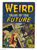 Golden Age (1938-1955):Horror, Weird Tales of the Future #1 (Aragon, 1952) Condition: GD/VG. RossAndru art. Overstreet gives partial credit for cover art ...