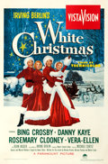 "Movie Posters:Musical, White Christmas (Paramount, 1954). Very Fine- on Linen. One Sheet (28"" X 42"").. ..."