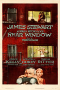 """Movie Posters:Hitchcock, Rear Window (Paramount, 1954). Fine/Very Fine on Linen. One Sheet (27"""" X 41"""").. ..."""