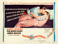 """North by Northwest (MGM, 1959). Fine/Very Fine on Paper. Half Sheet (22"""" X 28"""") Style B"""