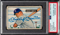 Autographs:Sports Cards, Signed 1951 Bowman Mickey Mantle #253, PSA/DNA Authentic Auto 8....