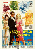 "Movie Posters:James Bond, From Russia with Love (United Artists, 1964). Folded, Fine/Very Fine. Italian 2 - Fogli (39.25"" X 55"") Averardo Ciriello Art..."