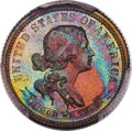 1869 10C Standard Silver Ten Cents, Judd-710, Pollock-789, Low R.7, PR64 Brown PCGS....(PCGS# 60935)