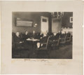 Autographs:U.S. Presidents, Woodrow Wilson and His Cabinet Photograph Signed ...