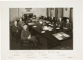 Autographs:U.S. Presidents, Harry Truman and His Cabinet Photograph Signed ...