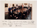 Autographs:U.S. Presidents, Bill Clinton and His Cabinet Photograph Signed ...