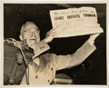 "Photography:Signed, Harry Truman ""Dewey Defeats Truman"" Photograph Twice Signed ..."