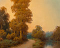Fine Art - Painting, American, A.D. Greer (American, 1904-1998). Late Texas Summer. Oil on canvasboard. 16 x 20 inches (40.6 x 50.8 cm). Signed lower l...