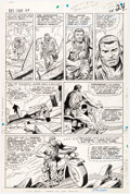 Original Comic Art:Panel Pages, Dick Ayers and John Tartaglione Sgt. Fury and the Howling Commandos #29 Story Page 18 Original Art (Marvel, 1966)....
