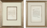 Robert E. Lee Signed General Orders No. 17 with General Orders No. 3