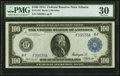 Large Size:Federal Reserve Notes, Fr. 1104 $100 1914 Federal Reserve Note PMG Very Fine 30.. ...